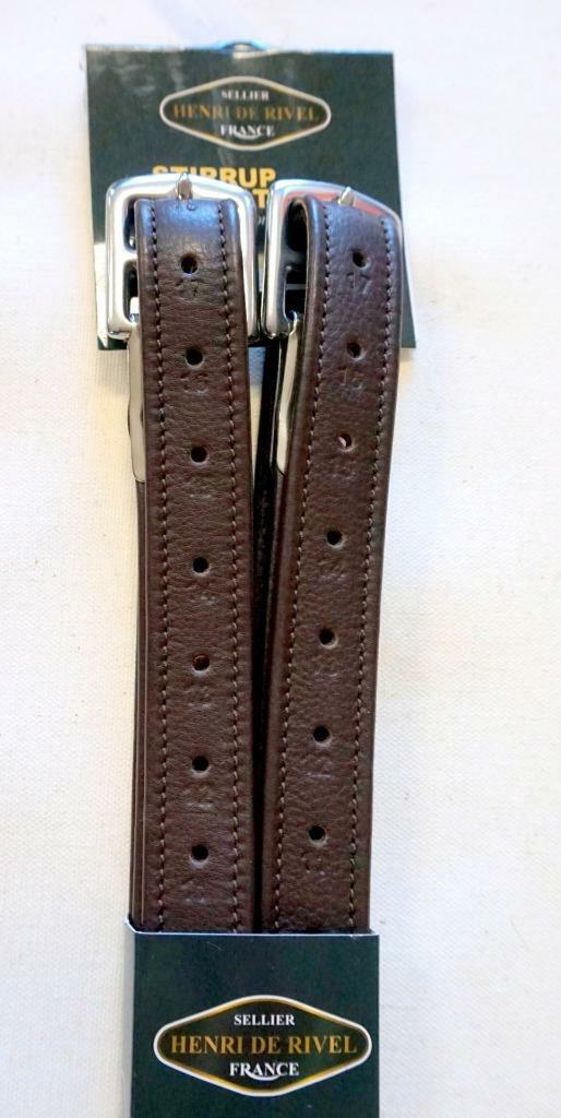 HDR HAVANA inglese Saddle Triple Coverosso Leather Stirrup Leathers 54 48 Backin