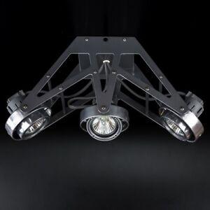 Decken-Strahler-Wap-3-flammig-Deckenspot-Decken-Leuchte-3xGU10-Lampen-Spot