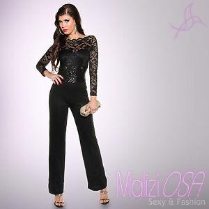 Caricamento dell immagine in corso Tuta-Elegante-donna-Overall-intera- jumpsuit-Pantalone-Palazzo- 6c9a89ab660