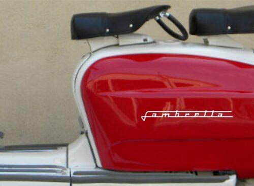 Lambretta scooter stickerSelf AdhesiveScooter Lambretta Vespa ModBB055