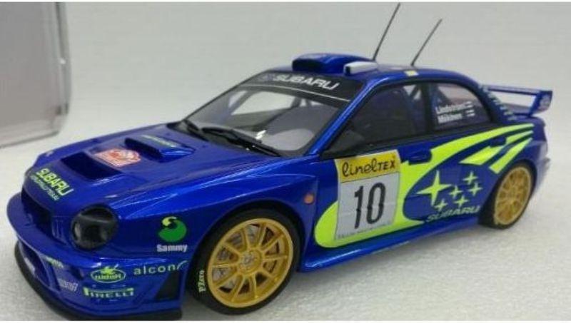 TOP MARQUES 037A 037AB 037AD SUBARU IMPREZA model cars race  plain versions 1 18