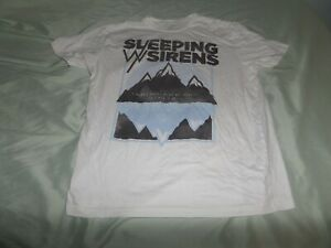Official Sleeping With Sirens Dark Mountains Unisex T-Shirt Photo Cover Madness