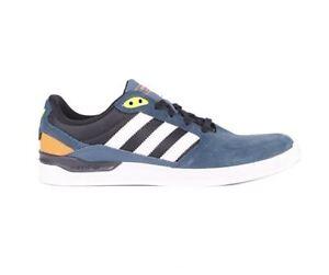 81be2bc0389c Adidas ZX Vulc Skate Shoe  Midnight Blue-White-Solar Yellow  SIZE ...