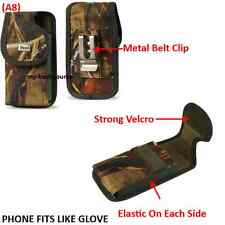 Commercial Grade Case With Metal Belt Clip Cover Holster Pouch For Smart Phones
