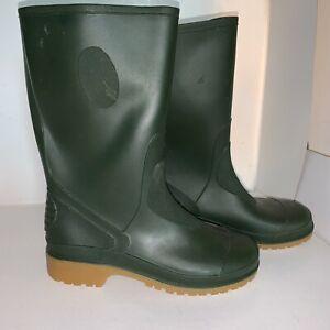 Dunnes Kids Rubber Green Rain Boots