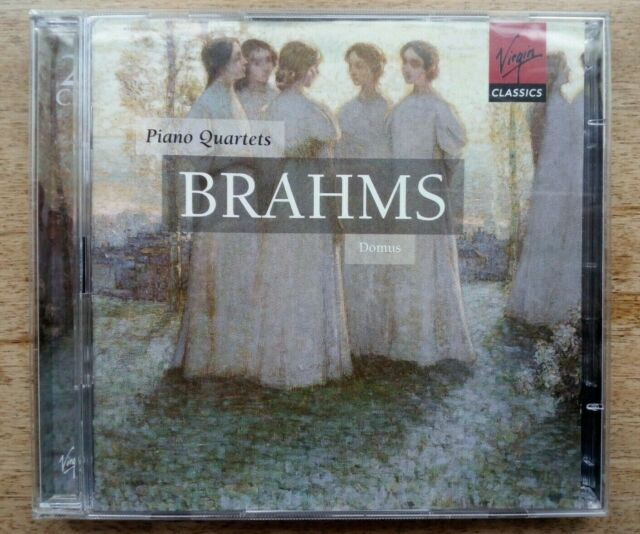 Virgin 2CD [1999]~BRAHMS: PIANO QUARTETS 1-3 / MAHLER Piano Quartet Mvmnt~DOMUS