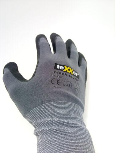 teXXor black touch Arbeitshandschuhe Montagehandschuhe