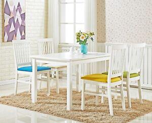 mesa y sillas miami blanco