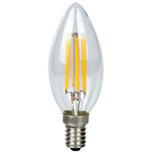 1//3//6//10x LED Filament Leuchtmittel Vintage E14 Kerze Retro 6W Glühbirne Kolben