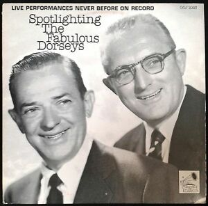 SPOTLIGHTINGS-The-Fabulous-Dorseys-Live-Performances-UK-LP-MCPS-1980