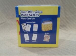 400 Piece Math Skills Flash Card Set by Learning Playground - Massillon, Ohio, United States - 400 Piece Math Skills Flash Card Set by Learning Playground - Massillon, Ohio, United States