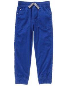 NWT Gymboree Boys Pull on Pants Jogger Navy Blue