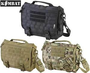 Mens Military Messenger Army Travel Shoulder Work Bag Satchel Molle ... 6a534e89430