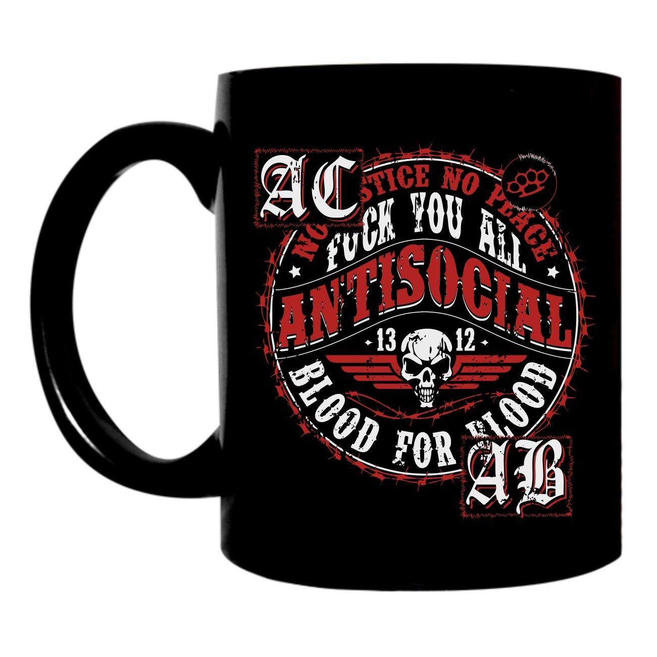 Tasse de café Gobelet Gobelet Gobelet Antisocial ultras skinhead KC asociale catégorie A.C. A.B. FTW 8ee9b8