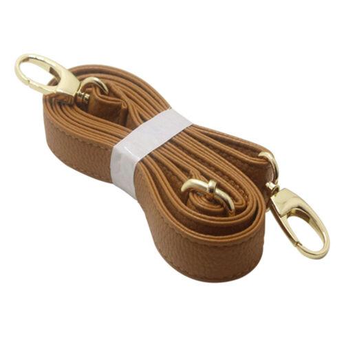 Adjustable 140CM Shoulder Strap DIY Cross Body Replacement Faux Leather Bag Belt