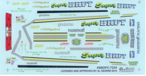 Slixx 7234 Super Brut Omni F//C Al Segrini Drag decal