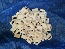 Mastrutscher Rutscher Göhlrutscher Kunststoff weiß neu