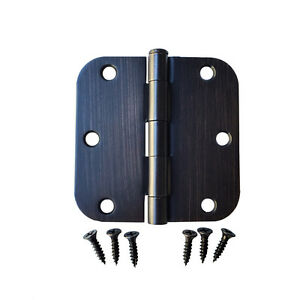 Oil Rubbed Bronze Finish Interior Door Hinges Door
