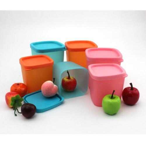 Food Storage Container Lids Spice Sauce Box Plastic Mini Storage Tank Kitchen YI