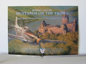 Mustangs-on-the-Prowl-P-51-55th-FG-Eighth-AF-Robert-Taylor-Aviation-Art-Brochure