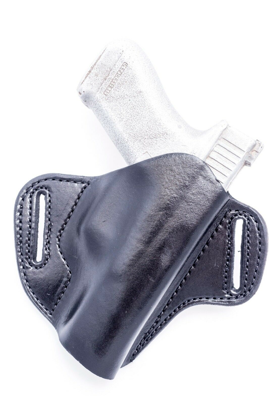 S&W M&P 9, 22, 40, 45, 357   Full Grain Leather OWB Pancake Holster. MADE IN USA