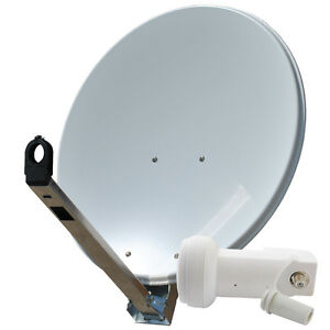 Sat-Schuessel-Gibertini-Spiegel-85-cm-Antenne-ALU-mit-Single-LNB-0-1dB-Full-HDTV