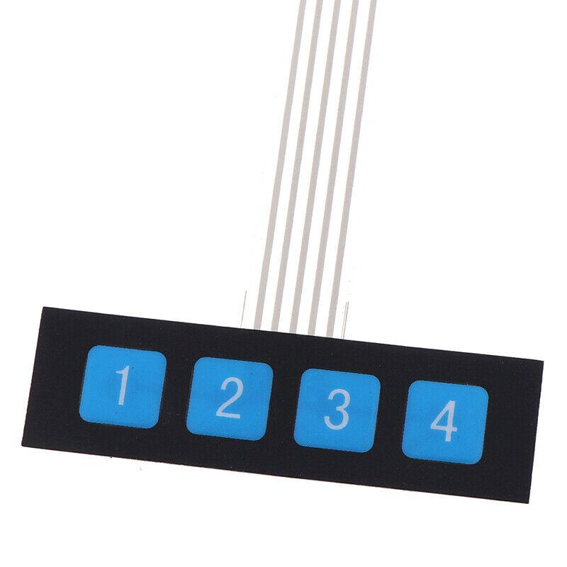 5 keys Matrix array 1x5 membrane switch keypad keyboard control panel 40*NWUSTPO
