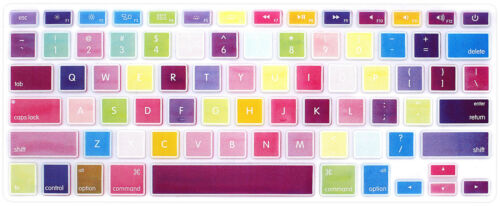 Stylish Silicone Keyboard Cover Skin Protector For Mac Air Pro Retina 13 15 17