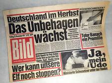 Bildzeitung vom 22.11.1991 zum 25. 26. 27. Geburtstag, Weihnachtsgeschenk BILD