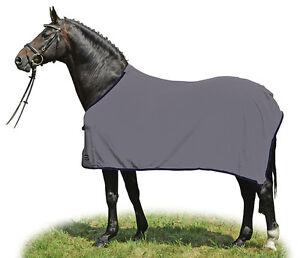 Details About Clearance 4 9 Hkm Alaska Light Grey Fleece Travel Cooler Show Horse Rug