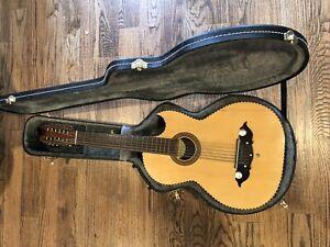 SUPER RARE! Lonestar Baja Sexto Amarillo 12-String Acoustic Guitar - TEXAS