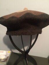"Woolmark Wool Beret Women's Hat 11"" Fletin Vintage Beautiful Perfect Xmas Gift !"