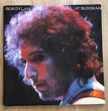 "Bob Dylan 'At Budokan' 1978 Vintage 12"" Vinyl Double Record LP / Poster / Lyrics"