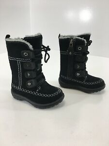 Details about Timberland Toddler Girls Winter Boots Waterproof Color Black Size US:4.5 NEW #