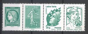 FRANCE 4908/9 et 4593/4 MARIANNE. NEUFS SE TENANT. xx. LUXE.
