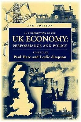 Introduction to the UK Economy Paperback Paul Hare