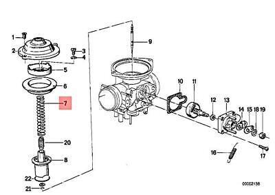 Genuine BMW 247 248 R 75 //7 80 G//S RT ST TIC R45 Nozzle Needle 13111255840