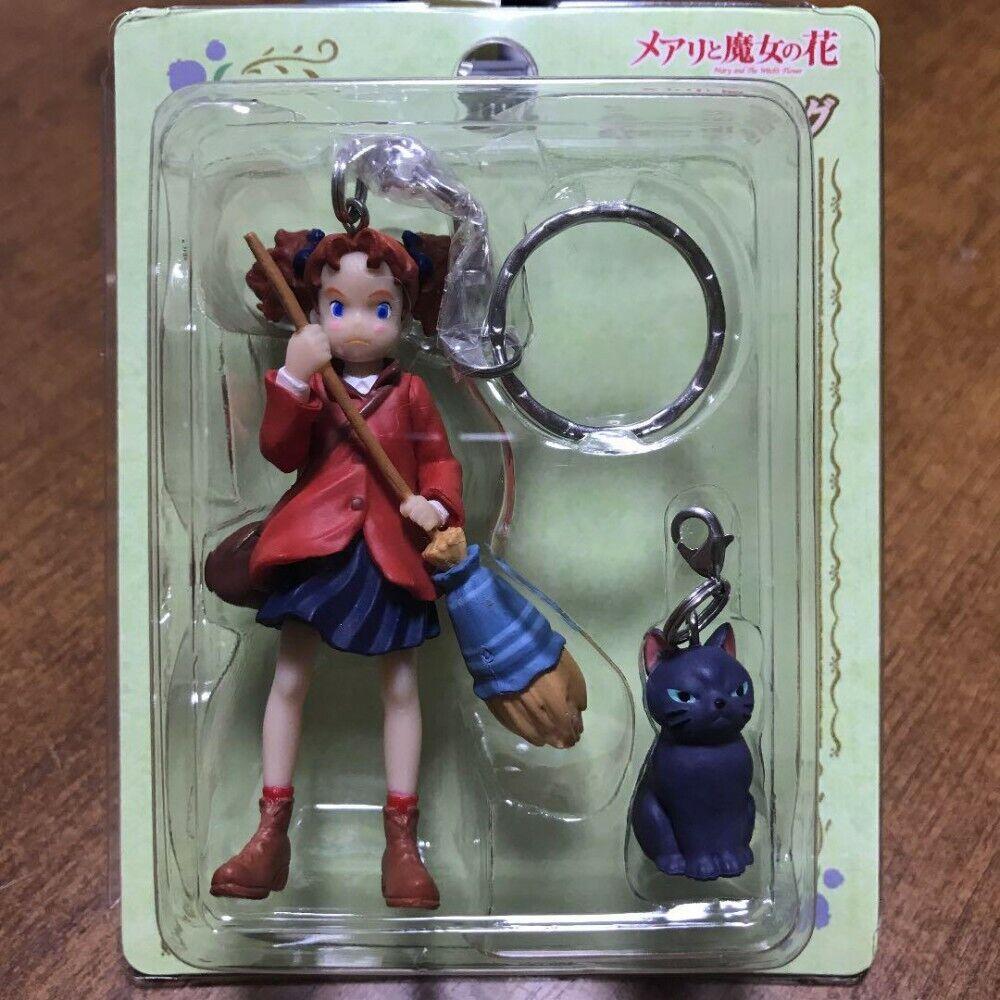 Mary and the Witch/'s Flower Keychain Mary /& Tib Studio Ghibli Miyazaki Hayao