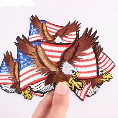 Vintage Silver Bullion U.S Eagle Patch