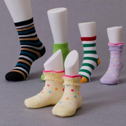 Hartplastik Kind Füße Mannequin Fußmodell Werkzeuge für Schuhe Socke Anzeige^