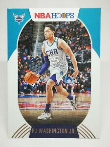 Panini Hoops 2020-21 N29 card NBA base #55 PJ Washington Jr - Charlotte Hornets