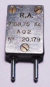Quartz-RA-Marine-francaise-format-FT243-Reception-sur-33-675-MHz