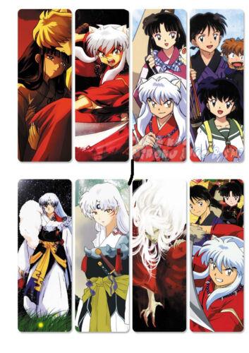 8pcs//set PVC Bookmarks of Inuyasha Inu Yasha  Actors book mark A