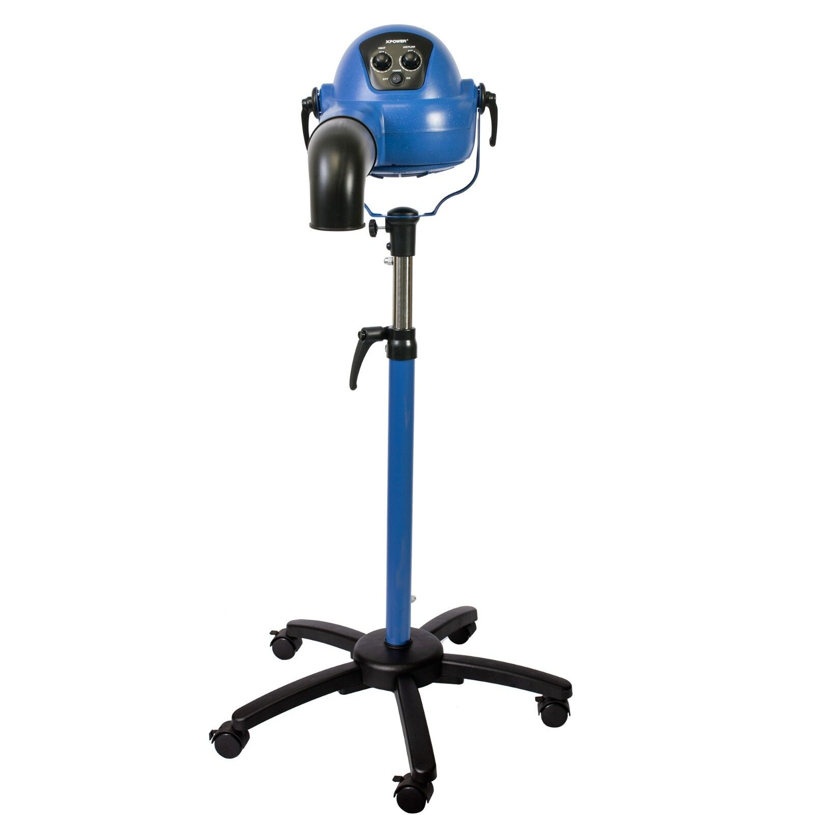 XPOWER B-16 Pro Finisher Brushless Pet Ionic Stand Stand Stand Dryer Variable Speed & Heat 0af942