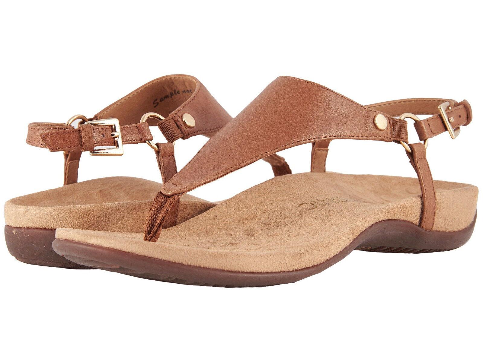 Women Vionic Orthaheel Kirra Brown Slingback Strap Sandal KIRRA Brown Kirra 100% Authentic 9074b5