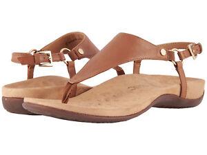 Women-Vionic-Orthaheel-Kirra-Slingback-Strap-Sandal-KIRRA-Brown-100-Authentic