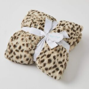 Jiggle & Giggle Animal Print Faux Fur Super Soft Baby Blanket