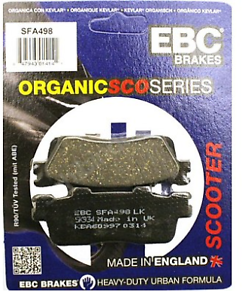 Kawasaki-J125-J300-2014-2018-EBC-Organic-REAR-Disc-Brake-Pads-SFA498