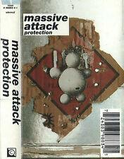 MASSIVE ATTACK PROTECTION CASSETTE ALBUM Electronic Downtempo, Dub, Trip Hop
