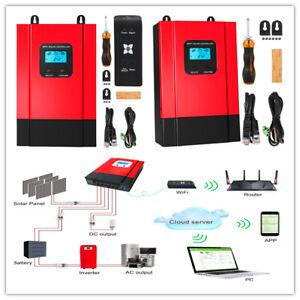ESMART-3-LCD-40a-50a-60a-12v-24v-36v-48v-MPPT-Solar-Charge-Controller-Regolatore-di-carica
